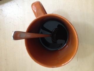Mycket kaffe lite arbete