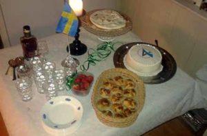 tårta från Adtraction på min födelsedag